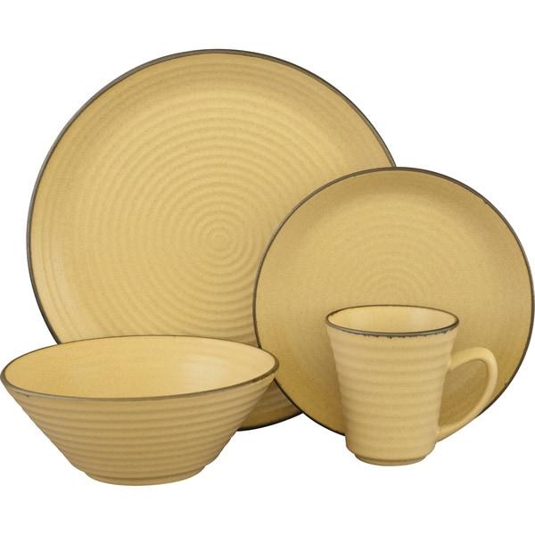 Sango Comet Cream 16-piece Dinnerware Set