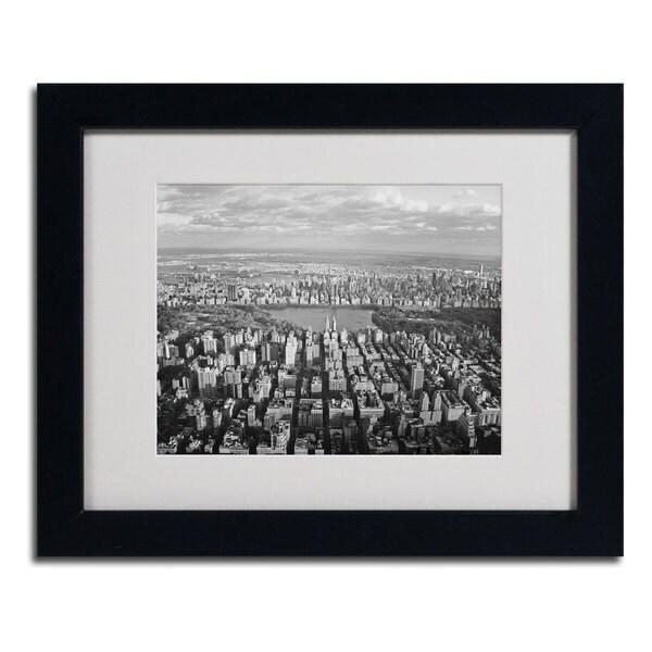 Ariane Moshayedi 'Cloud View' Framed Matted Photography Art