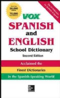 VOX Spanish and English School Dictionary (Hardcover)