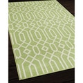 Links Green Indoor/ Outdoor Rug (1'8 x 3'7)