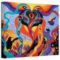 Marina Petro 'Karmic Lovers' Gallery-Wrapped Canvas