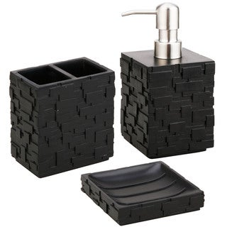 Jovi Home Vista 3-piece Bath Accessory Set