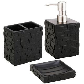 Jovi Home Vista Bath Accessory 3-piece Set