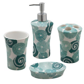 Jovi Home Parasols 4-piece Bath Accessory Set