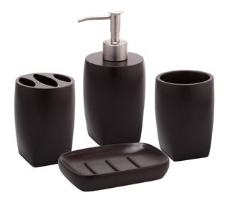 Jovi Home Allure 4-piece Bath Accessory Set