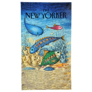 Fish with People Inside Beach Towel