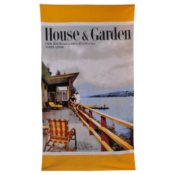 Lake House Beach Towel