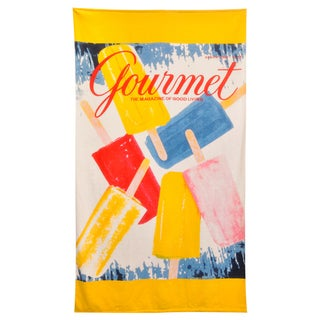 Popsicles Beach Towel