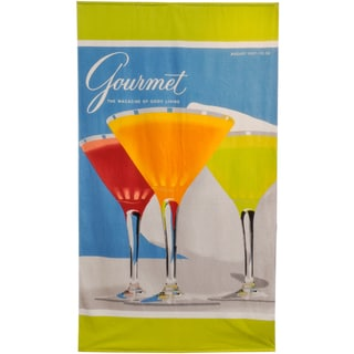 Martini Beach Towel