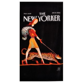Leopard Lady Beach Towel