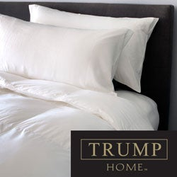 TRUMP Home 400 Thread Count Pima Cotton 650 Fill Power American White Down Comforter