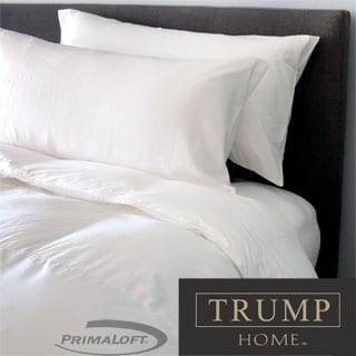TRUMP Home 400 Thread Count Pima Cotton PrimaLoft Luxury Down Alternative Comforter
