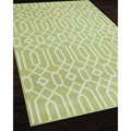 Indoor/ Outdoor Green Links Rug (8'6 x 13'0)