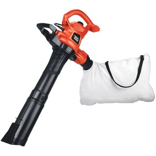 Black & Decker 12-amp 2-speed Handheld Electric Mulcher Blower Vacuum