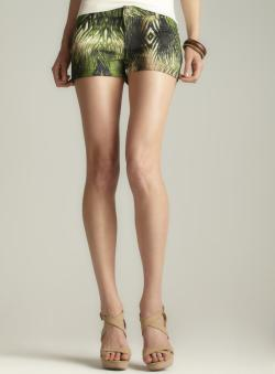 Buffalo Penley Palm Printed Shorts