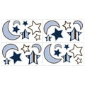 Sweet JoJo Designs Starry Night Stars and Moons Wall Decals