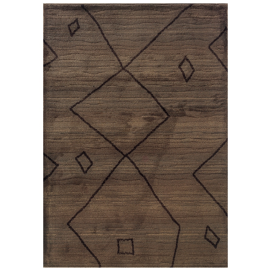 Style Haven Old World Tribal Brown/ Ivory Rug (9'9 x 12'2) at Sears.com