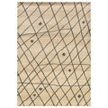 "Old World Tribal Ivory/Brown Area Rug (9'9"" x 12'2"")"
