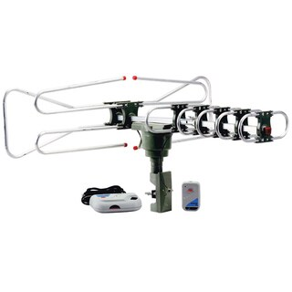 QuantumFX ANT-104 HDTV Motorized and Amplified Digital Outdoor TV Antenna