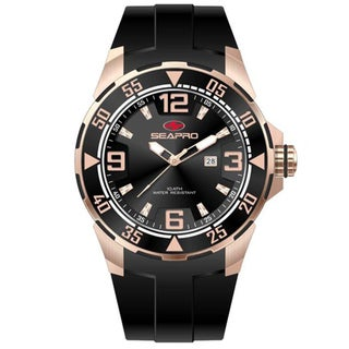 Seapro Men's 'Drive' Rose Goldtone Watch