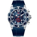 Seapro Men's 'Drive' Blue Dial Chronograph Watch