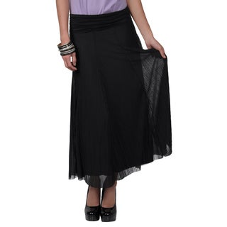 Tressa Collection Women's Flowing Fold Over Skirt