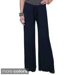 Tressa Collection Women's Stretchy Drawstring Waist Pants