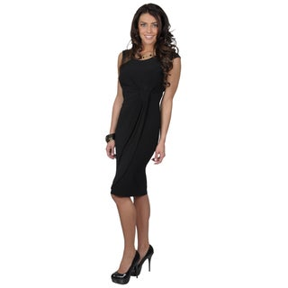 Tressa Collection Women's Stretchy Scoop Neck Dress
