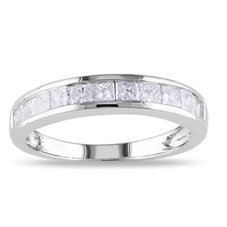 Miadora 14k White Gold 3/4ct TDW Diamond Ring (G-H, I2-I3)