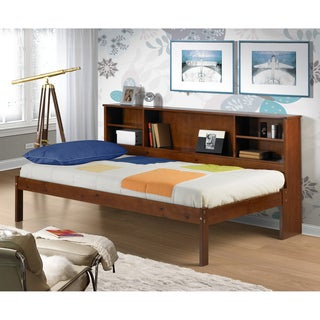 Cherokee Light Espresso Twin-size Bookcase Bed