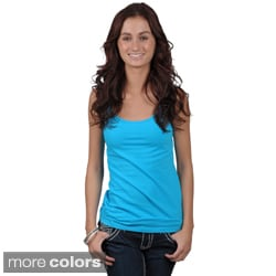 Fashion Corner Juniors Layering Scoop Neck Tank Top