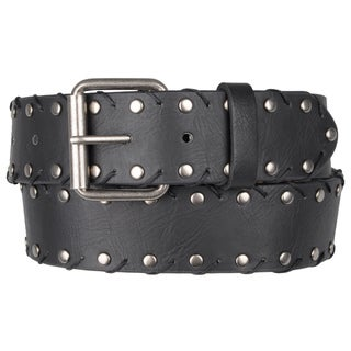Journee Collection Women's Casual Studded Belt