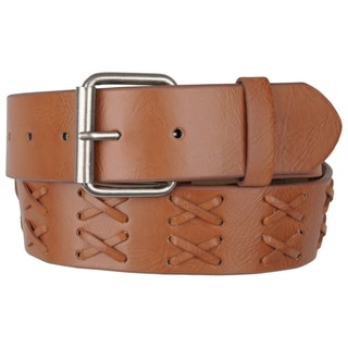 Journee Collection Women's Casual Lacing Pattern Belt