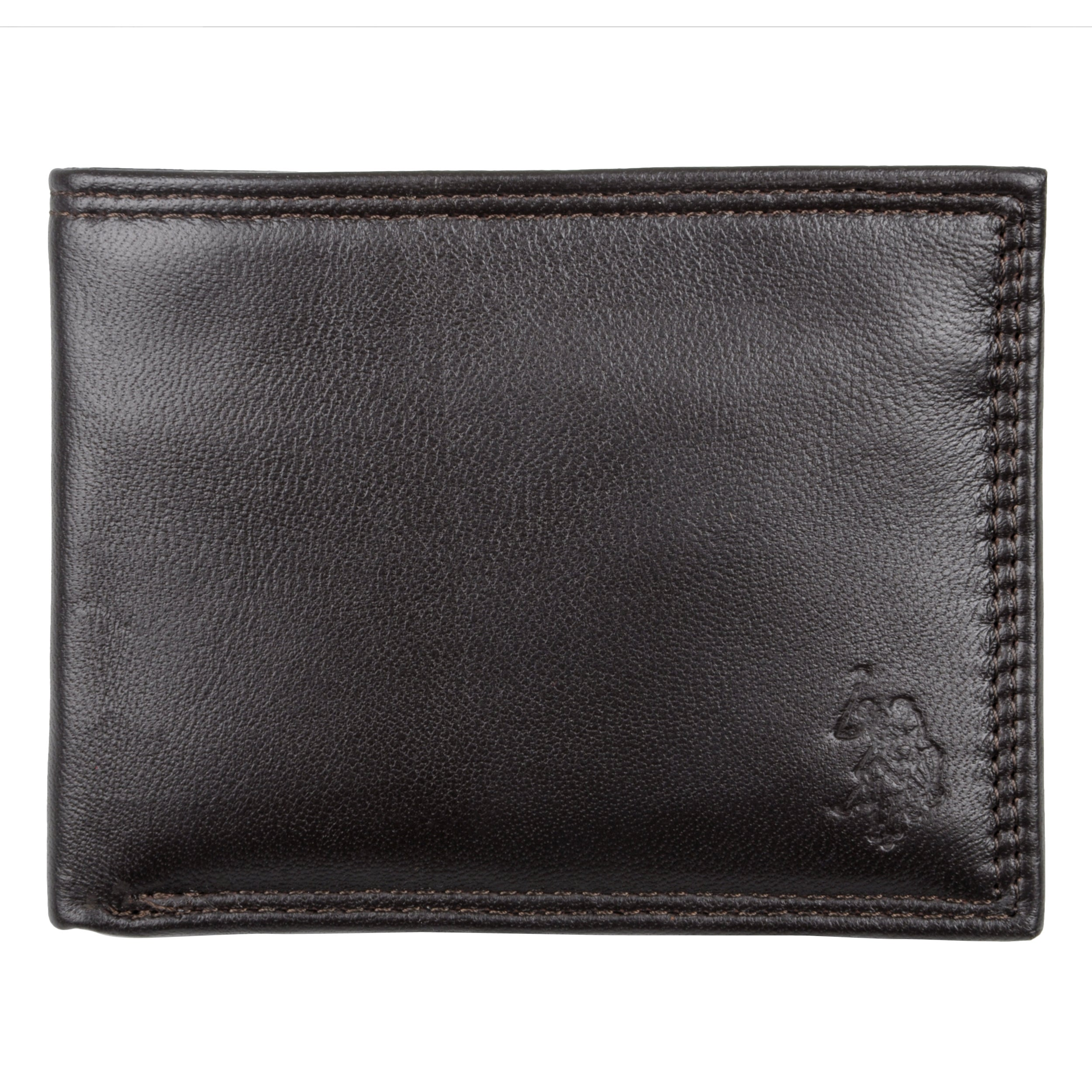 36e101288 U.s. Polo Association Mens Genuine Leather Passcase Wallet on PopScreen