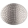 BT Oval Hammer Studded Belt Buckle