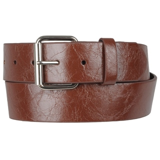Journee Collection Women's Casual Leather Belt