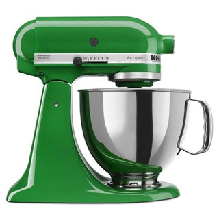 KitchenAid KSM150PSCG Canopy Green 5-quart Artisan Stand Mixer *plus Overstock $30 gift card and $30 KitchenAid mail-in rebate