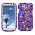 BasAcc Alphabet Case for Samsung Galaxy S III i747/ L710/ T999/ i535