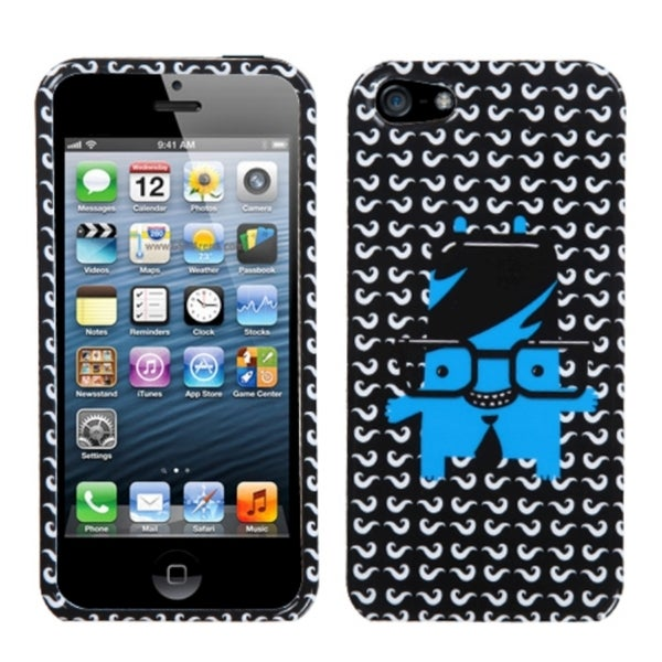 INSTEN Glasses Doctor Phone Case Cover for Apple iPhone 5