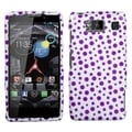 BasAcc Purple Mixed Polka Dots Case for Motorola Droid Razr HD