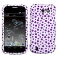 BasAcc Purple Mixed Polka Dots Case for ZTE N9500 Flash