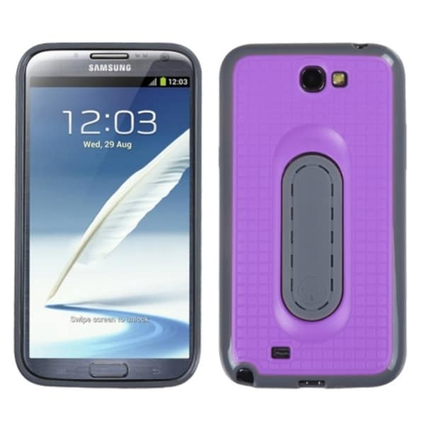 INSTEN Snap Tail Stand Phone Case Cover for Samsung Galaxy Note II T889/ I605