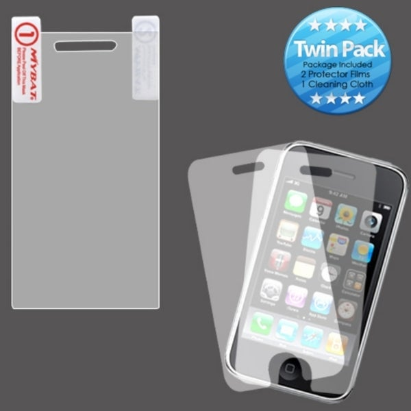 INSTEN LCD Screen Protector Twin Pack for Motorola A855 Darkoid