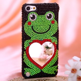 BasAcc Frog Heart Diamante Case for Apple iPod Touch 5th Generation