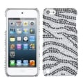 BasAcc Black Zebra Diamante Case for Apple iPod Touch 5th Generation