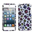 BasAcc Rainbow Leopard Case for Apple iPod Touch 5th Generation