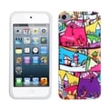 BasAcc Silicone Colorful Case for Apple iPod Touch 5th Generation