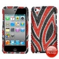 BasAcc Jungle Fever Diamante Case for Apple iPod Touch 4th Generation