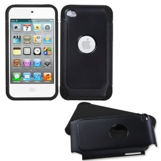 BasAcc Black/ Black Frosted Case for Apple iPod Touch 4th Generation