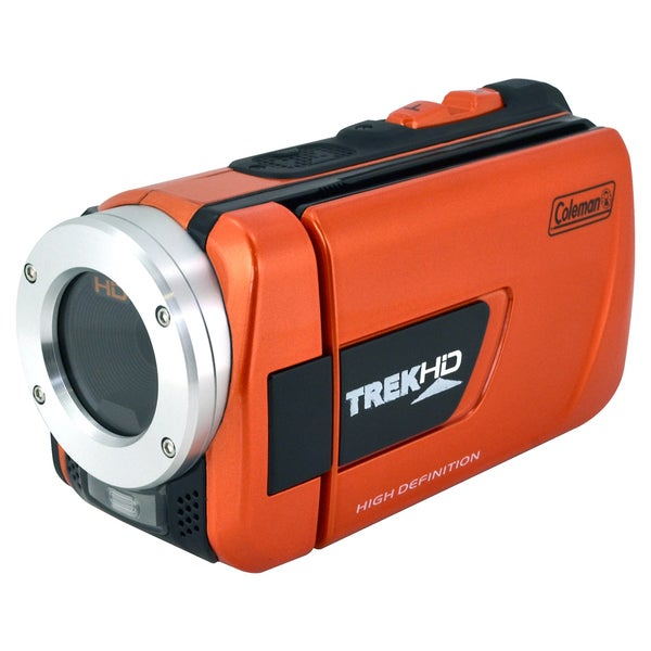 Coleman TrekHD HD Waterproof 16MP Digital Camcorder